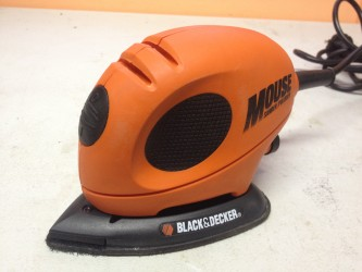 "Šlifuoklis ""Black & Decker Mouse"", 55 W"